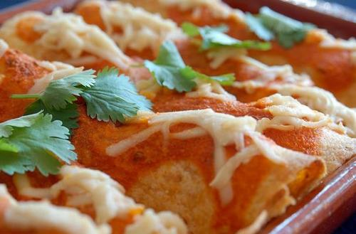 Healthy Vegetarian Enchiladas