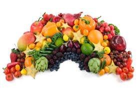 produce rainbow