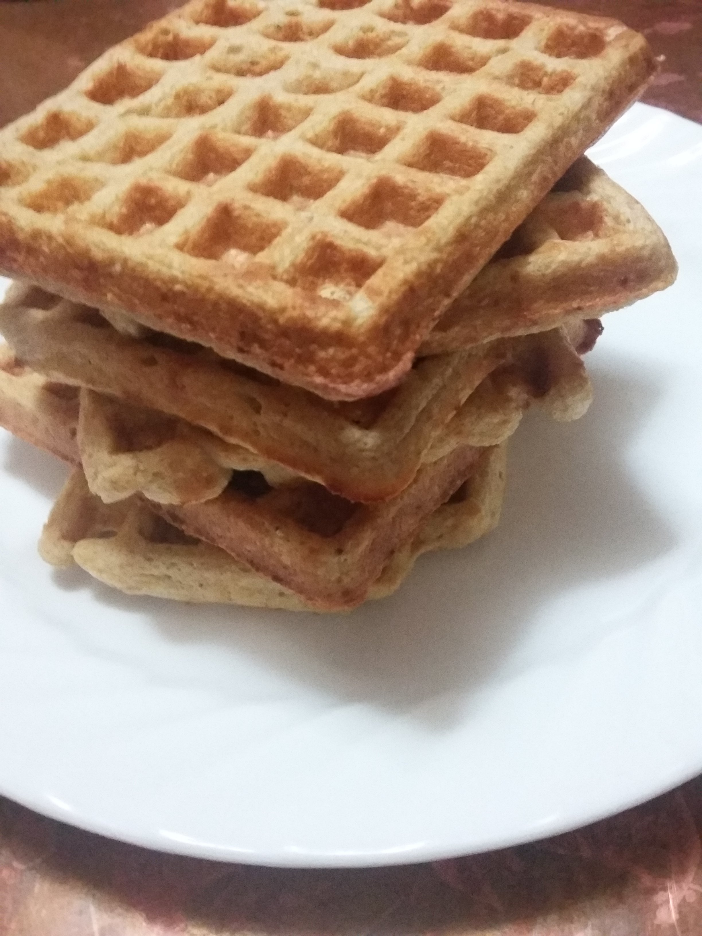 Protein Packed Gluten Free Waffles