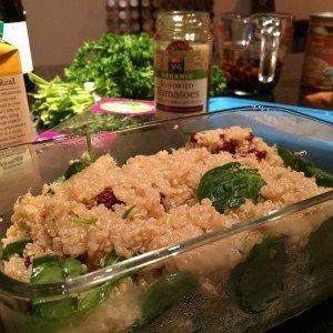 quinoa & kale