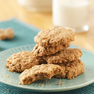 Flourless 5 Ingredient Oatmeal Peanut Butter cookies