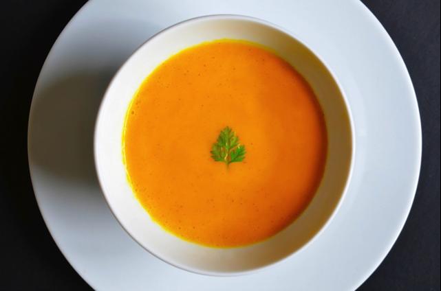carrot cardamom soup