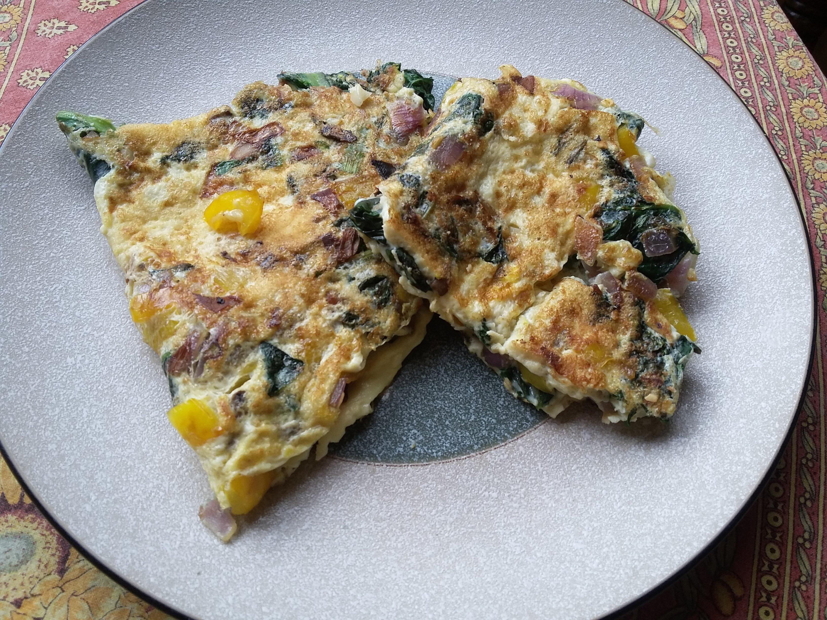 Eggs & Veggie Omelet