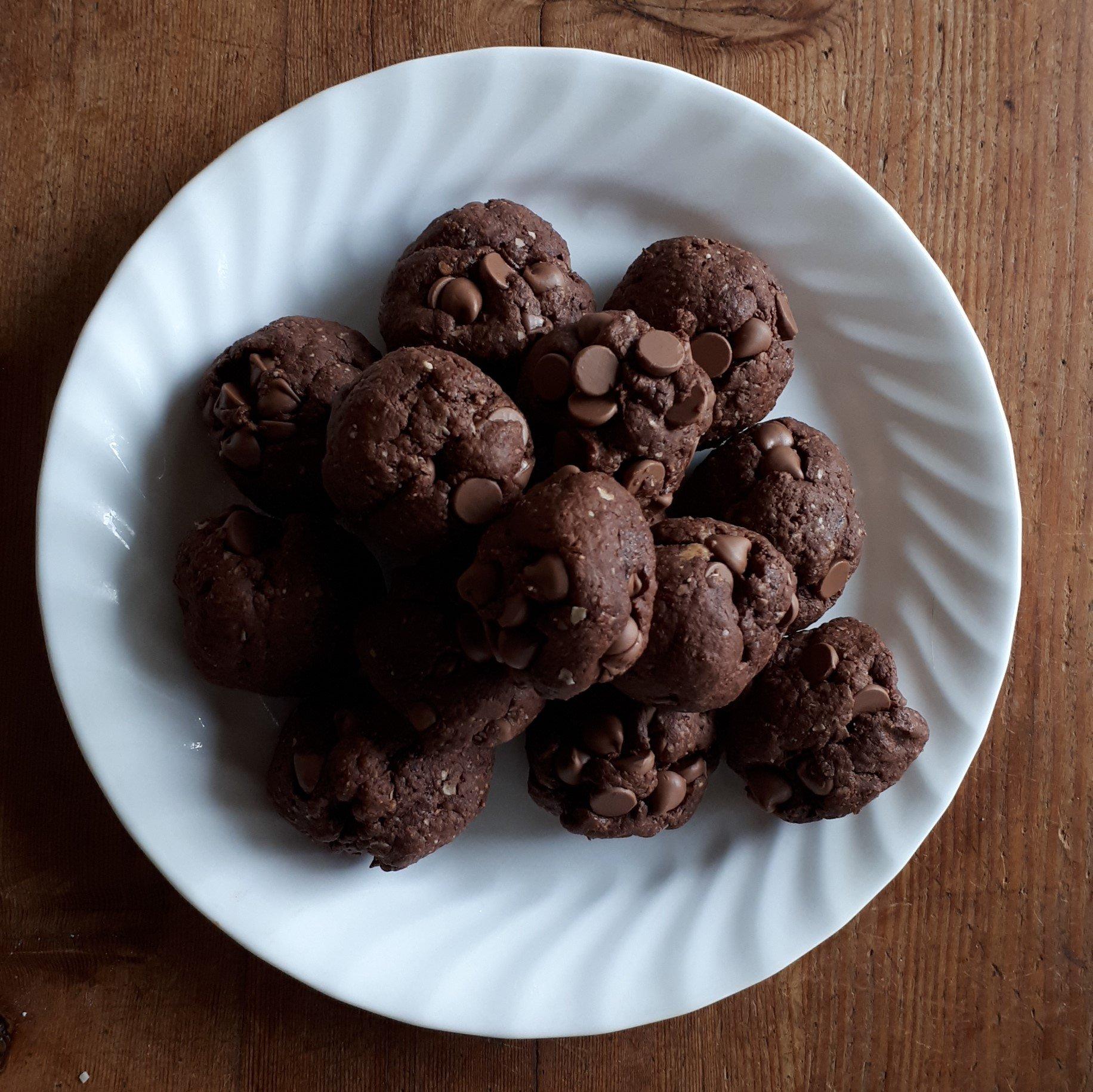 Easy Gluten Dairy Free Brownie Bites