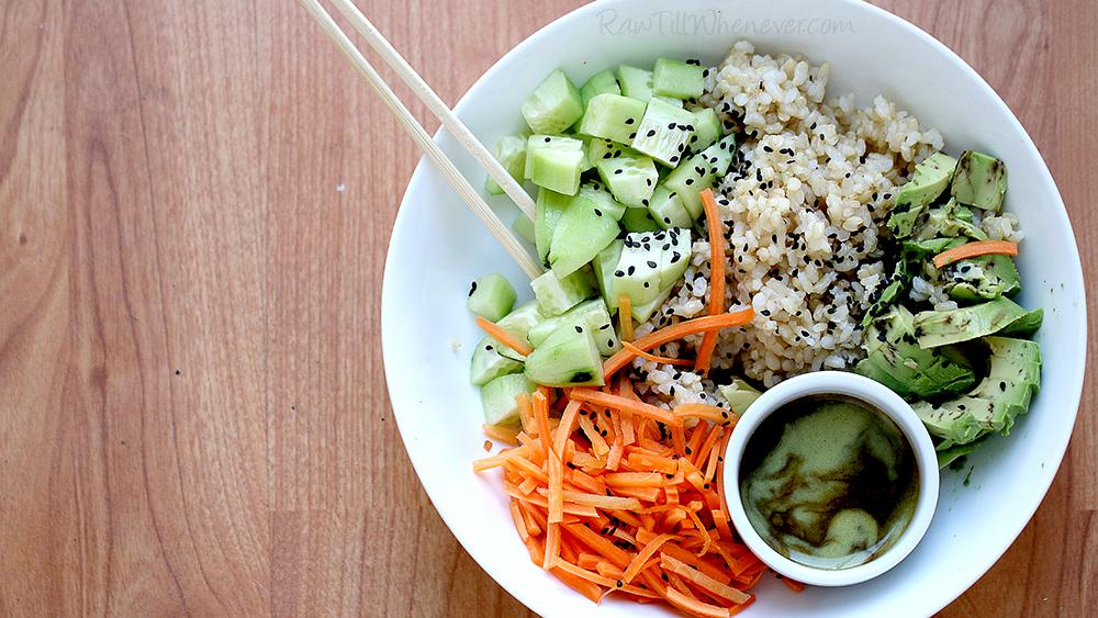 Seaweed Sushi Bowl