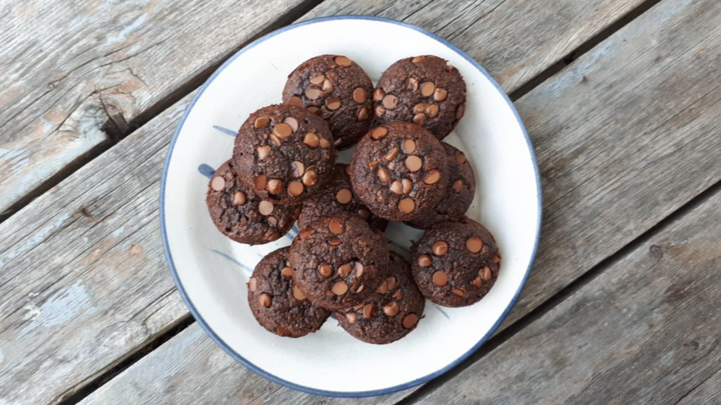 chocolate-zucchini-muffins