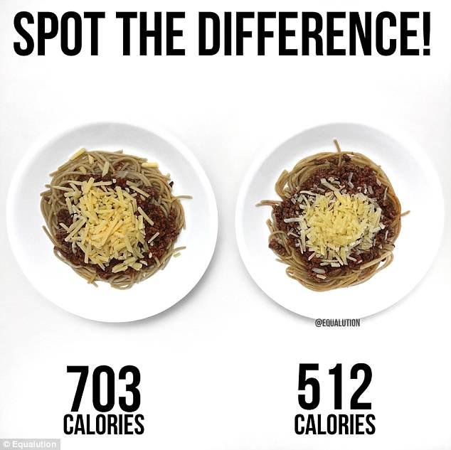 pasta-portions
