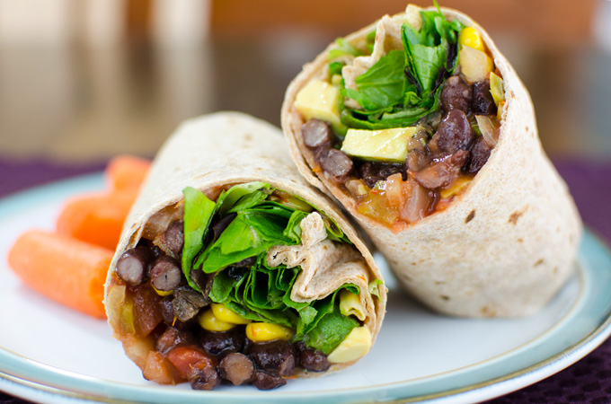 Black-Bean-Wrap