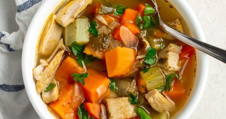 Turkey & Vegetable Soup