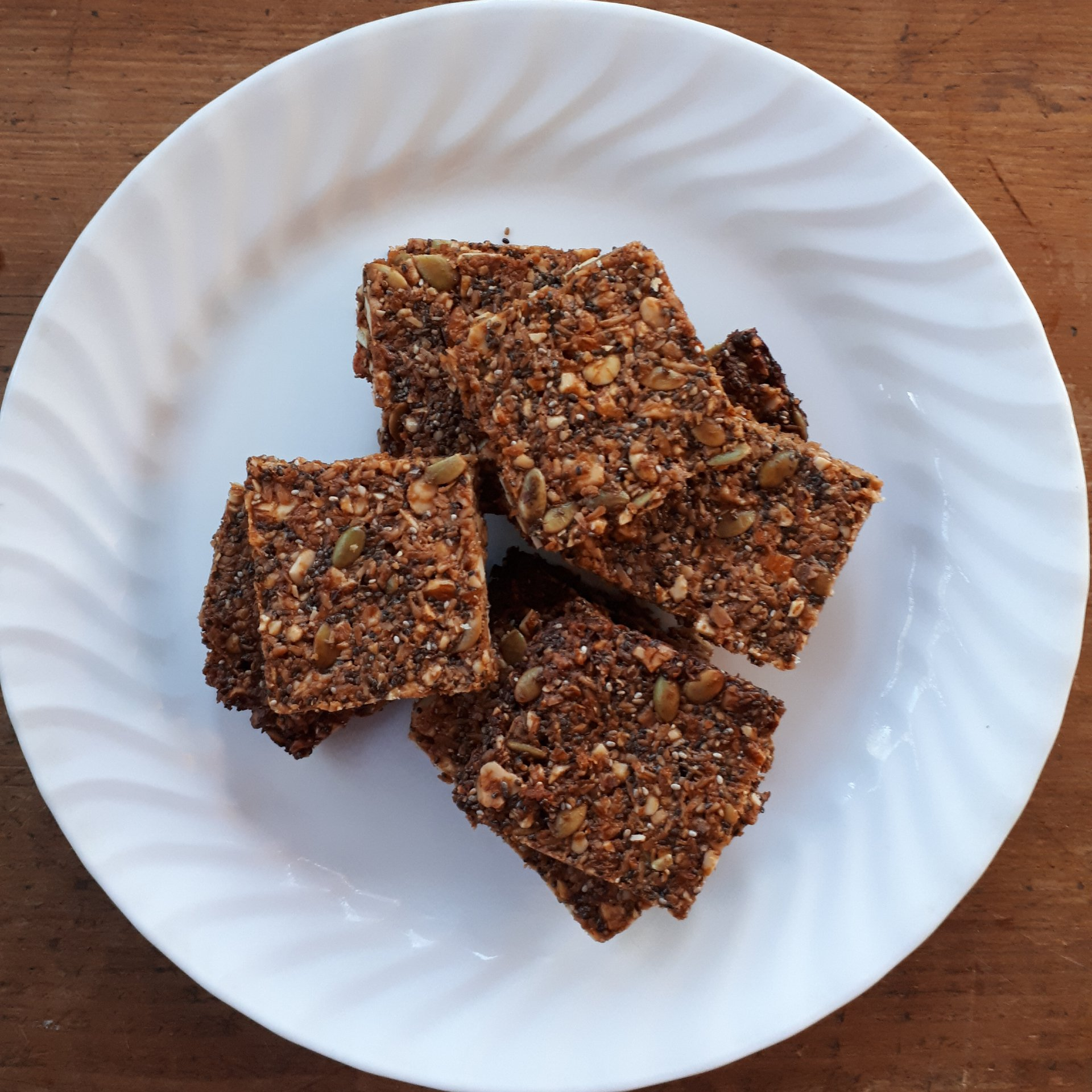 Coco-Nutty Snack Bars